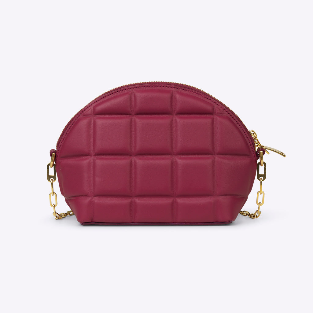 Bottega Veneta Nappa Mini Bag - Amaranto