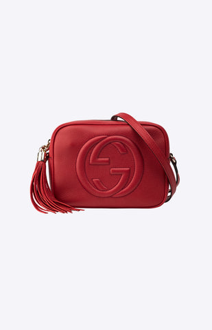 77d220fec Soho Small Disco Bag Red Feature Image