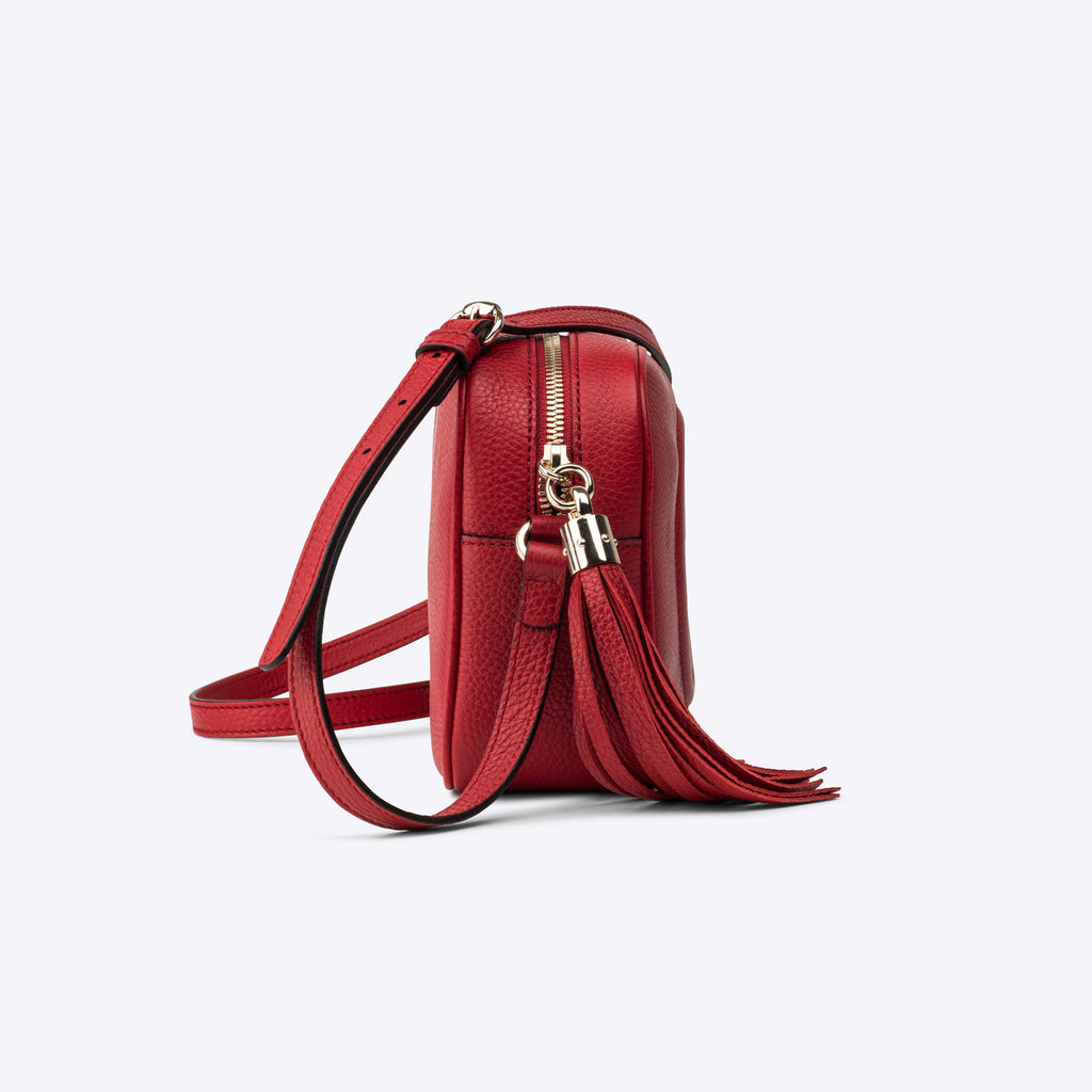 Soho Small Disco Bag Red