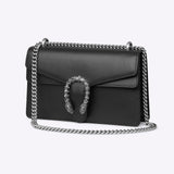 Gucci Dionysus small shoulder bag - black leather