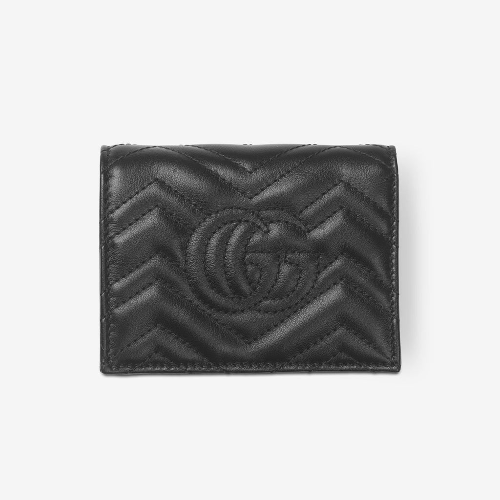 Gucci GG Marmont card case wallet - Black