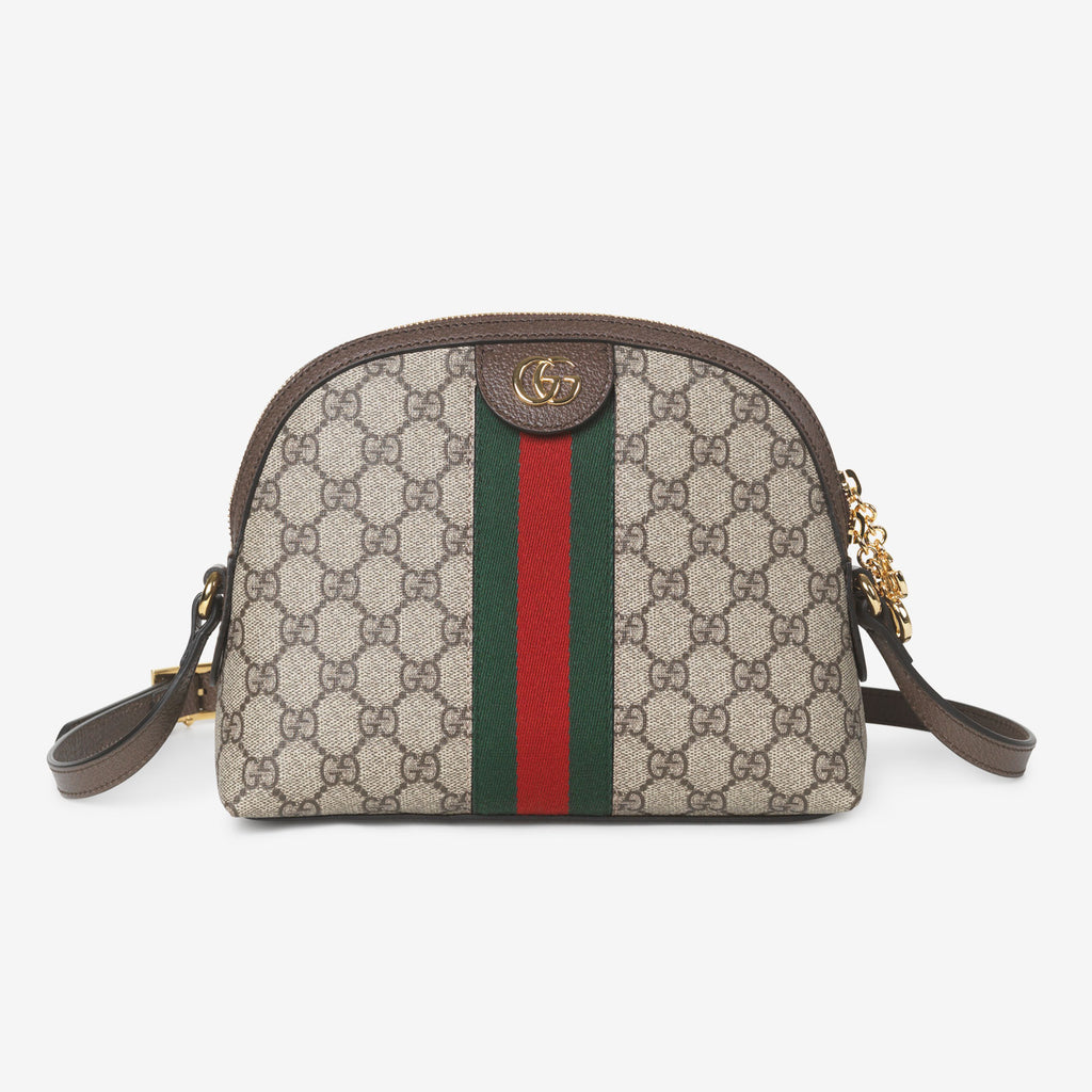 Gucci Ophidia GG shoulder bag - Beige canvas