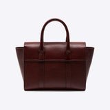 Small Bayswater Grain Veg Tanned Oxblood