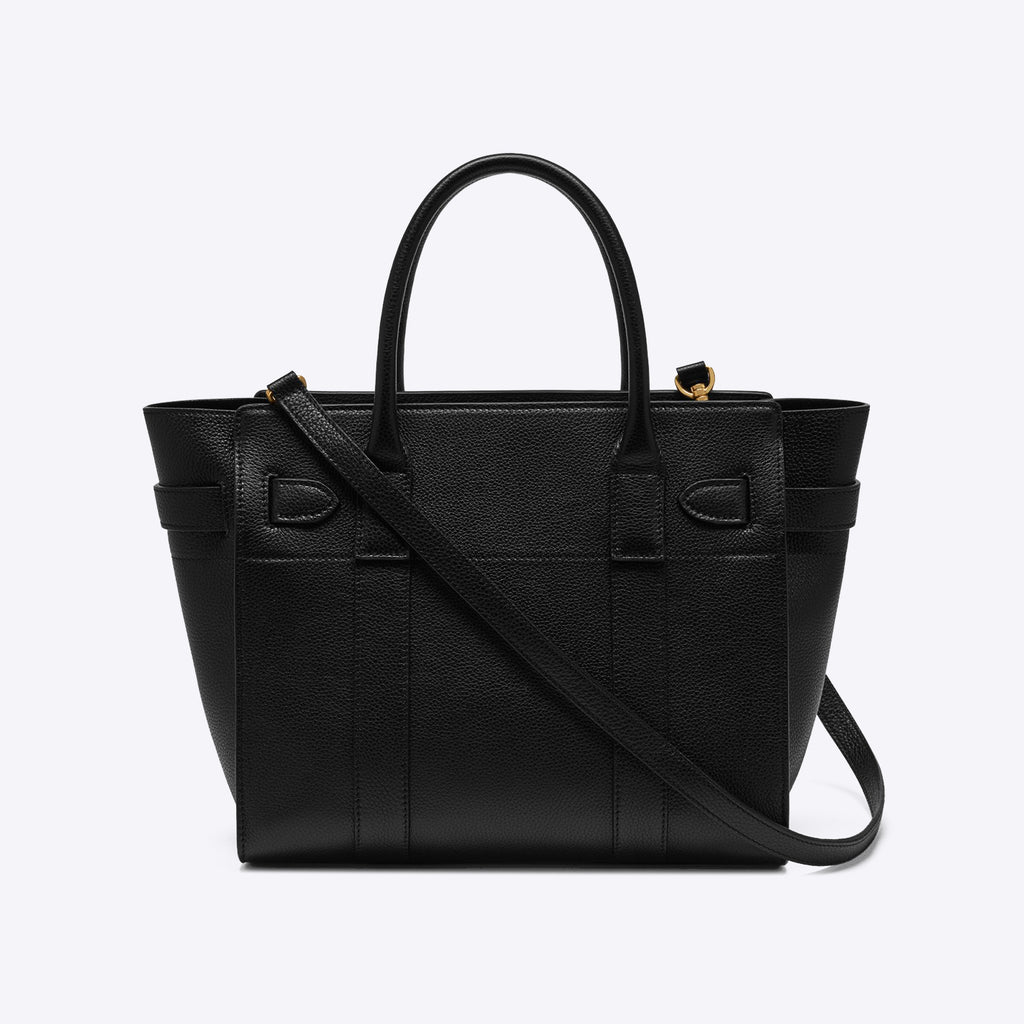 Mulberry - Small Zipped Bayswater Small Classic Grain black Bag – Collage