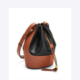 Loewe Ballon Small Bag - Black/Tan