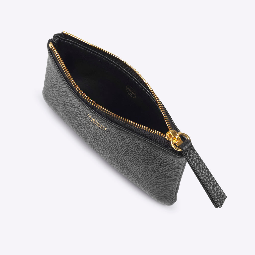 Mulberry Zip Coin Purse - black