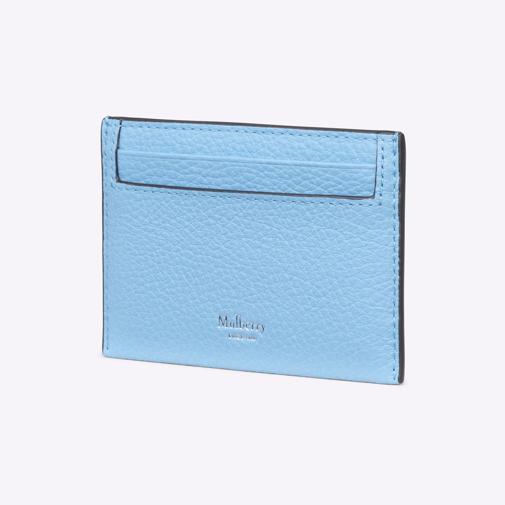 Mulberry Credit Card Slip - Pale Slate