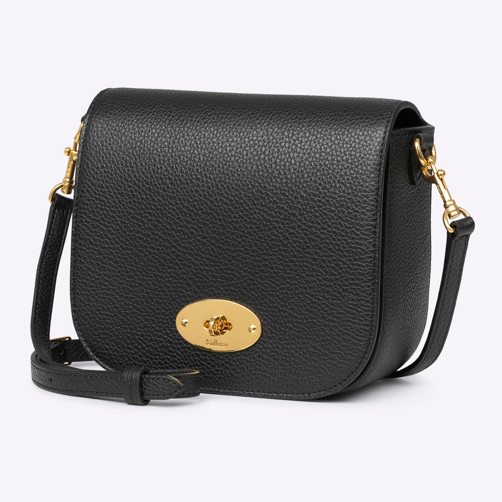 Mulberry Small Darley Satchel - Black