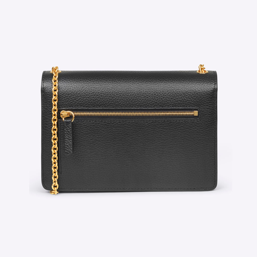 Mulberry Small Darley - Small Classic Grain black