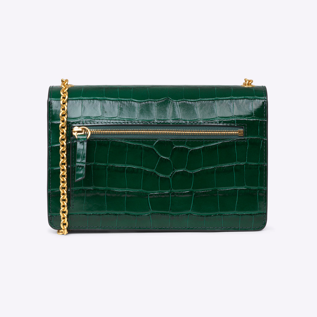 Mulberry Small Darley - Jungle Green
