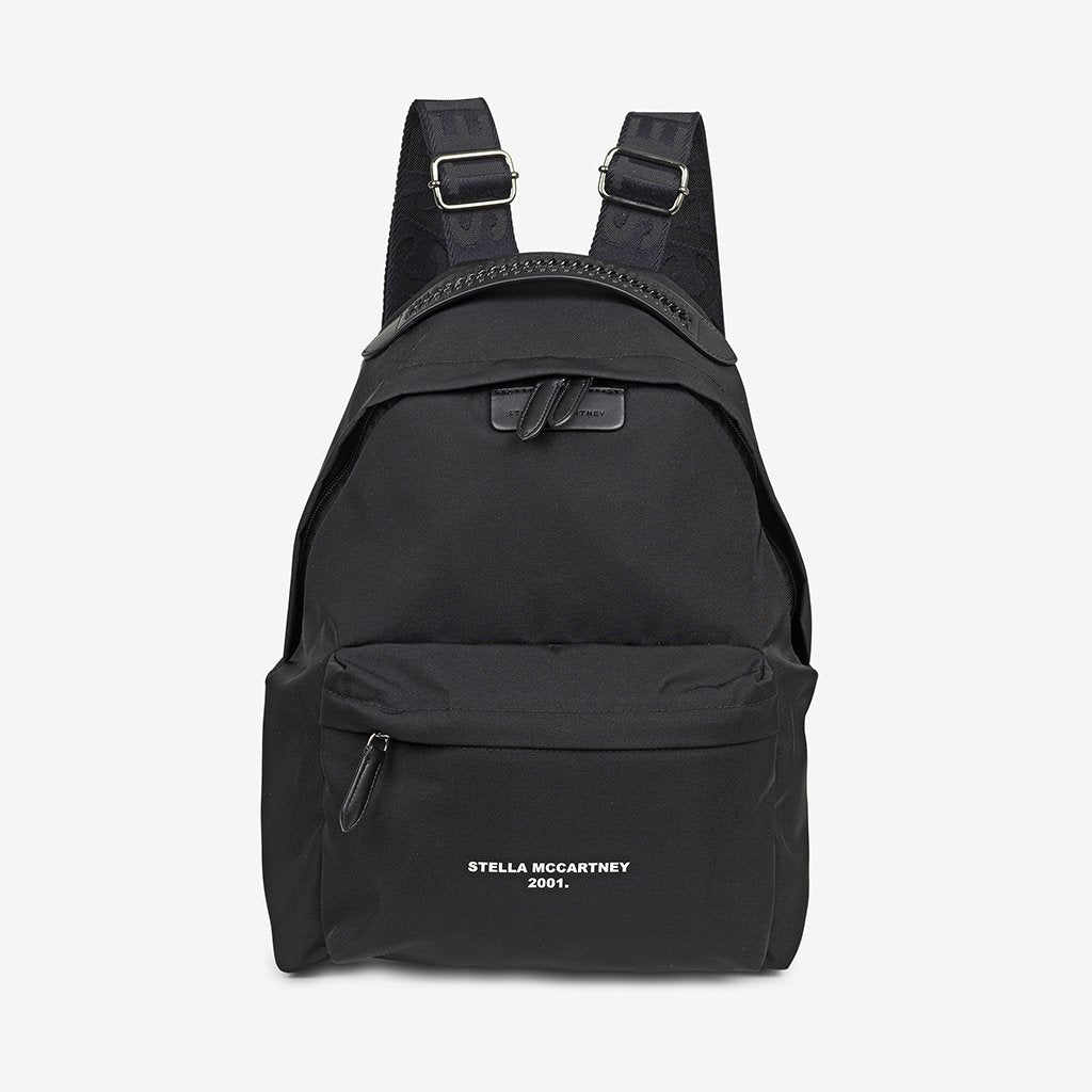 Backpack Eco Nylon - Black
