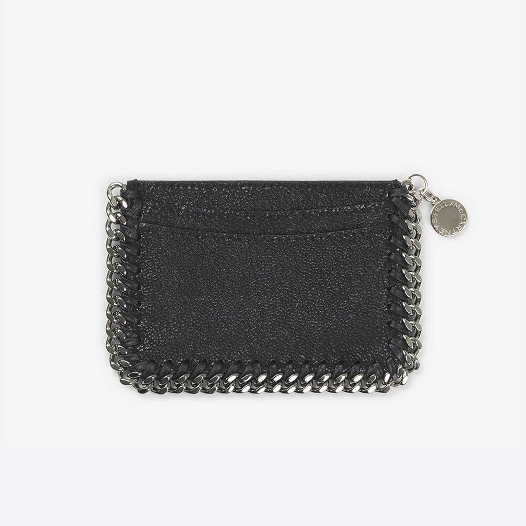 Stella McCartney Card Holder Falabella - Black