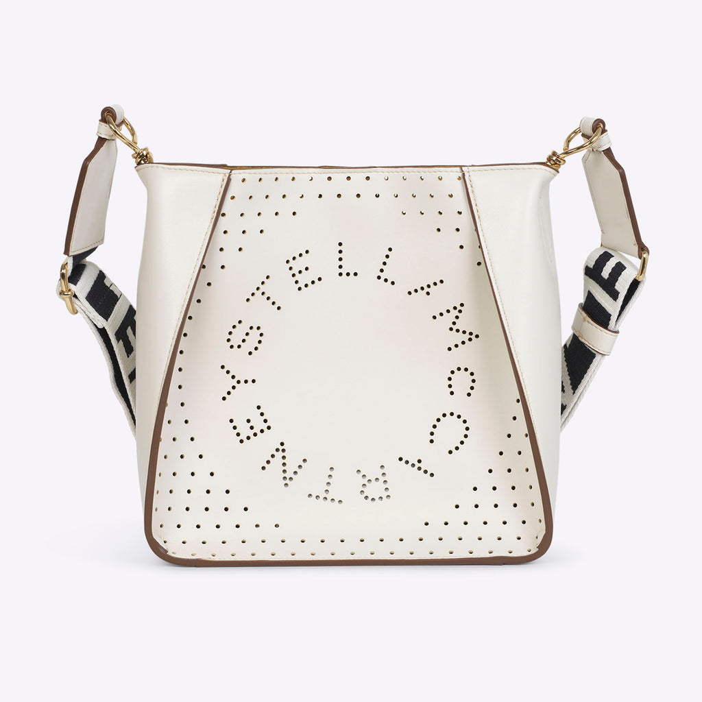 Stella McCartney mini crossbody - Pure White