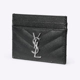 Saint Laurent monogram card case - black