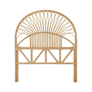 Bali Rattan Headboard Single - Tobs and Ror