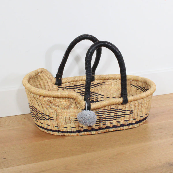 Winnie Mini Me Dolls Moses Basket, Play Baskets by Tobs and Ror