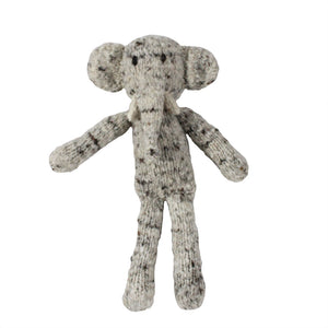 Ezra Elephant Organic Wool Hand Knitted Teddies, Kenana Knitters at Tobs and Ror