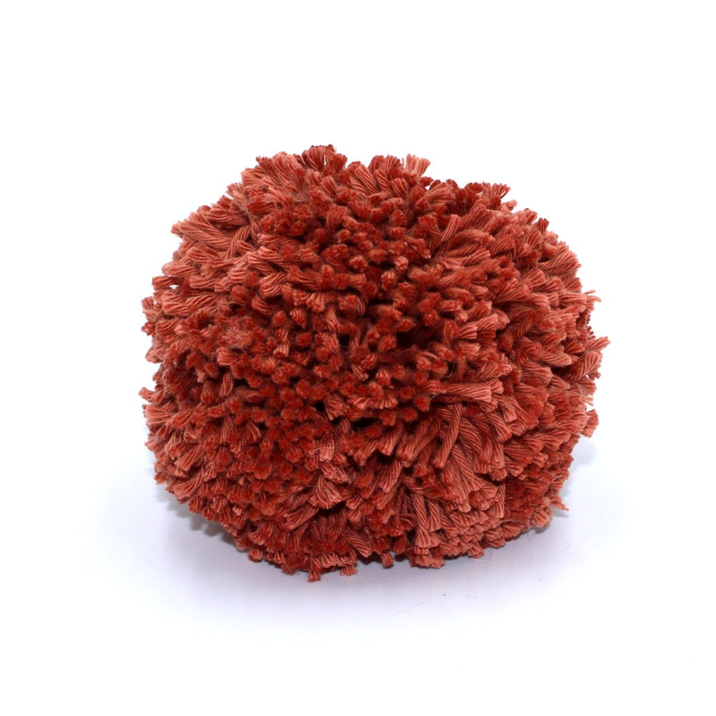 Rust Pom-pom for moses baskets, nursery accessories and decor by Tobs and Ror