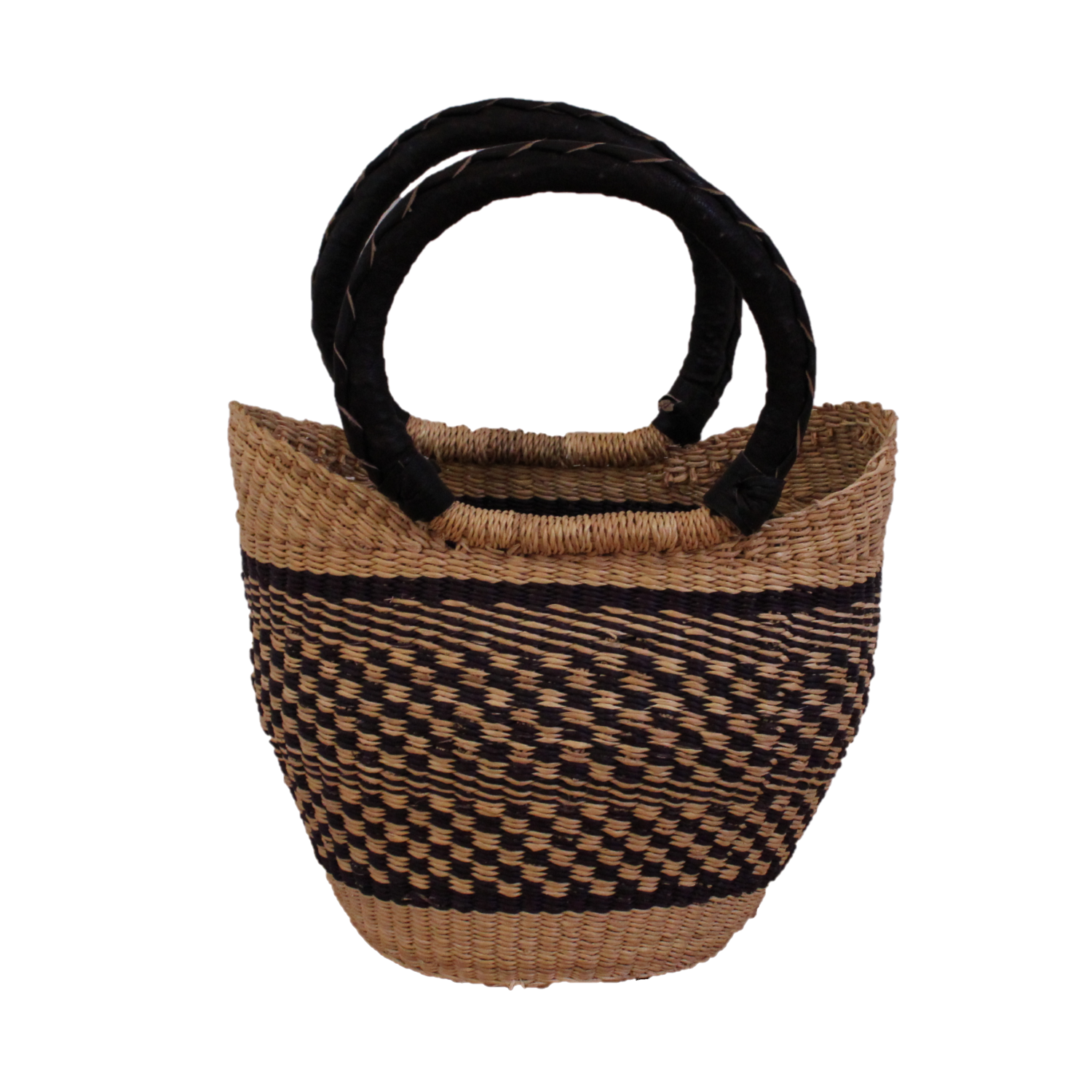 Zebedee Mini U-Shopper, Handwoven African Kids Play Baskets by Tobs and Ror