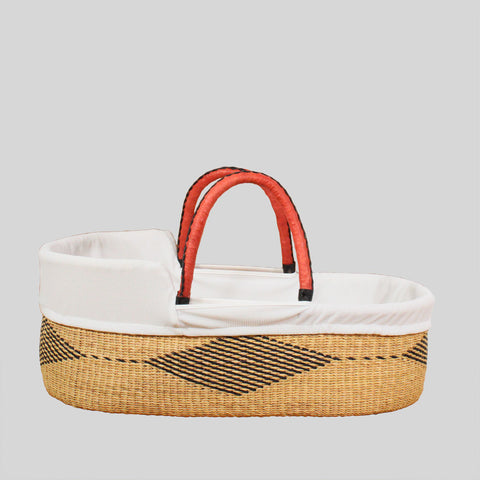 Cotton moses basket liner by tobs and ror