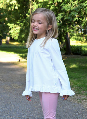 Frill UV Top White