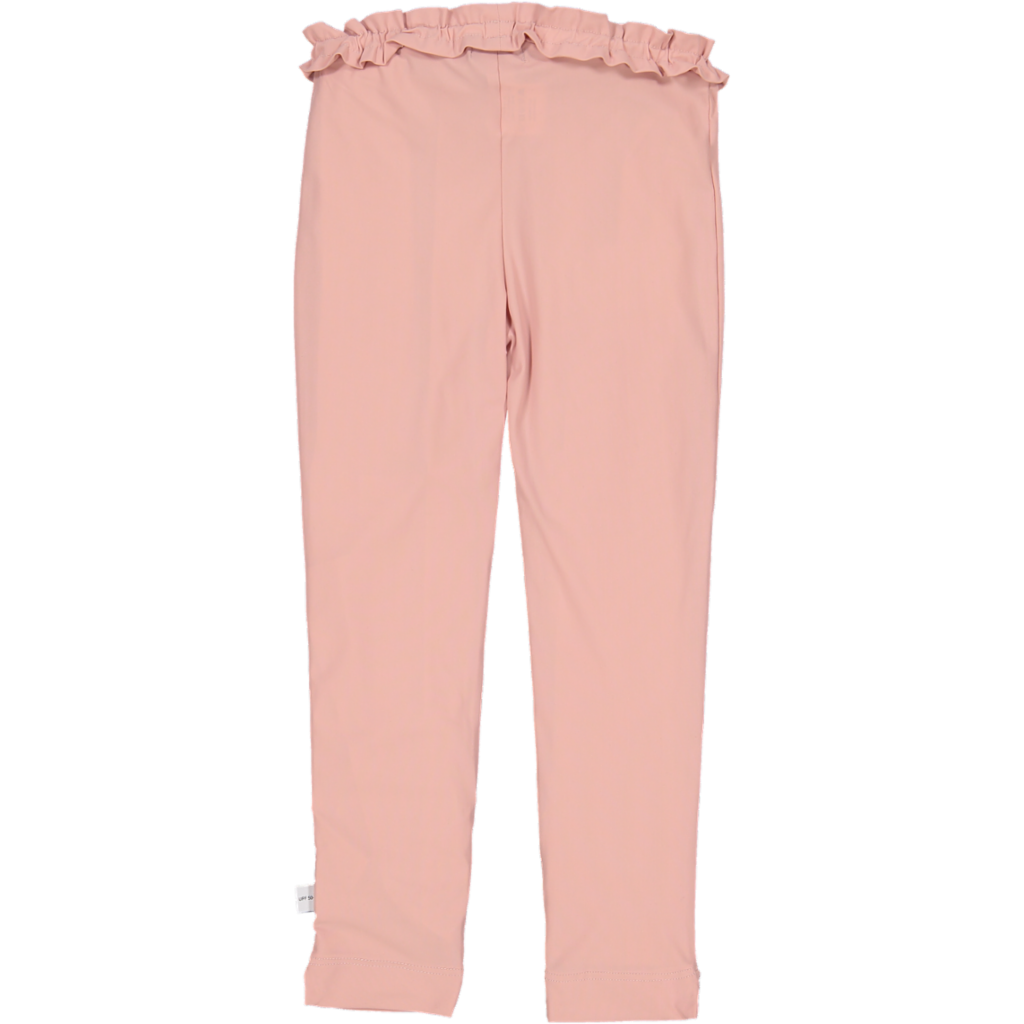 Ruffle UV Legging Pink