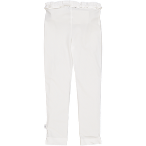Ruffle UV Legging White