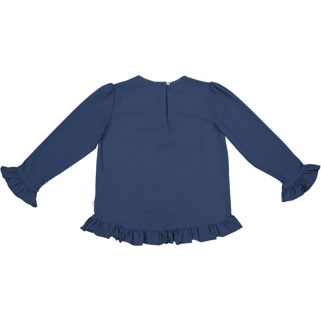 Frill UV Top Blue