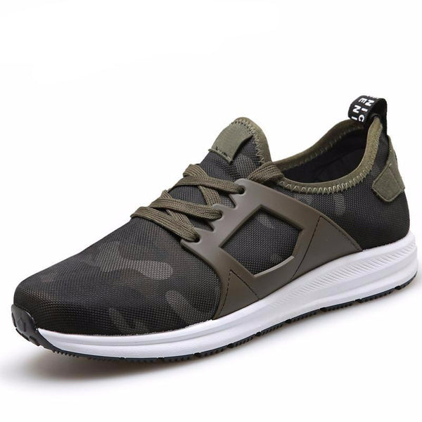 Men Casual Canvas Camouflage Star Style