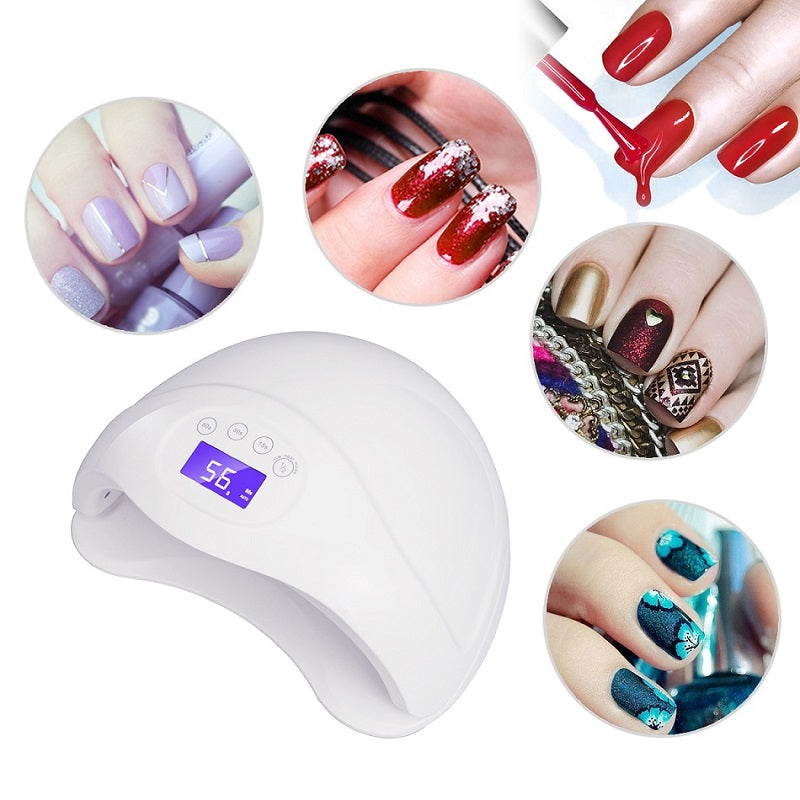 ... 48W UV Led Nail Lamp Dryer Cure ...