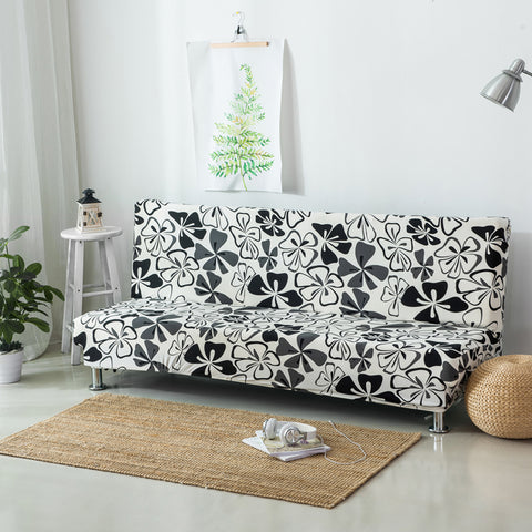 ... Elastic Case For Sofa Without Handrail Printed Sofa Couch Cover ...