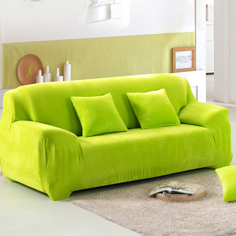 sectional sofa covers. Elastic Slipcover Solid Color Plush Stretch Sectional Sofa Covers