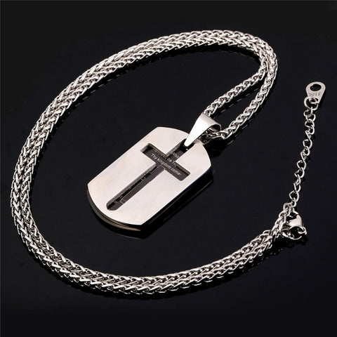 Lords Prayer Stainless Steel Christmas Gift For Men
