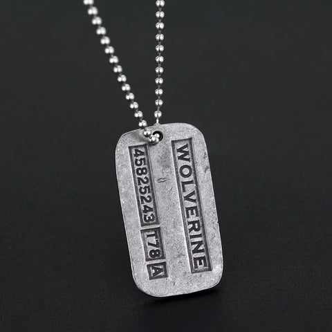 Movie X-Men Origins Wolverines Dog Tag