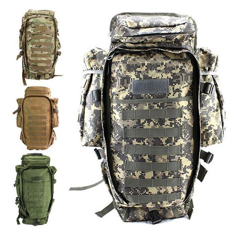 Men's Military Tactical Pack Outdoor Hunting Backpack