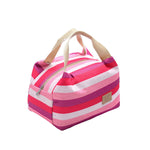 Oxford Stripe Lunch Storage Bag