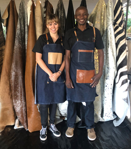 Custom Leather Aprons Cape Town