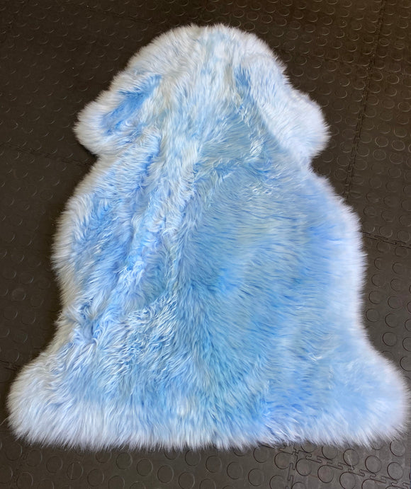 Dusty Blue Sheepskin