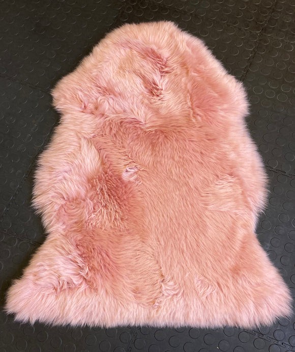 Dusty Pink Sheepskin