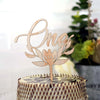 Number & Filigree Cake Topper