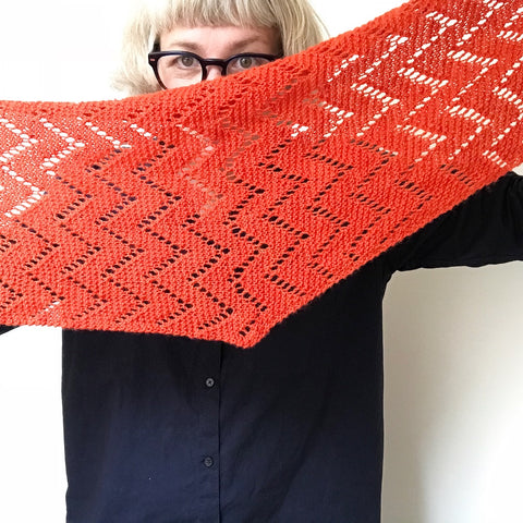Miso shawl by Ambah O'Brien