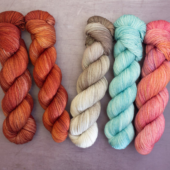 Westknits - Slipstravaganza MKAL 2020 - yarn packs
