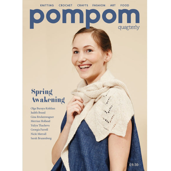 pompom quarterly - Issue 16 - Spring 2016