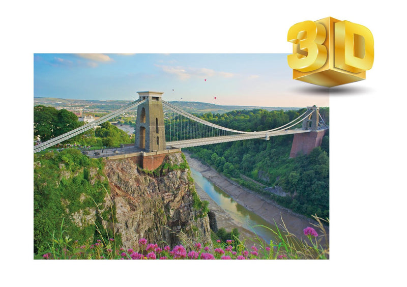 Clifton Suspension Bridge 3D Bristol Fridge Magnet