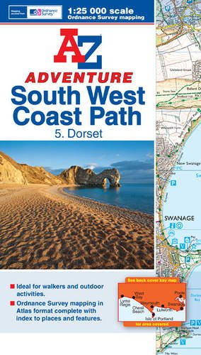 South West Coast Path Dorset A-Z Adventure Atlas