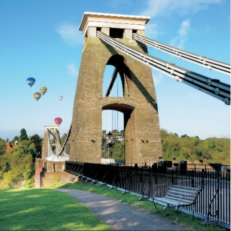 Bristol Balloon Fiesta Greeting card