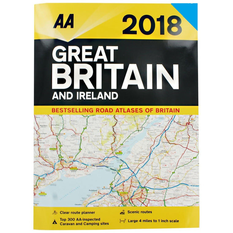 AA 2018 GB Road Atlas