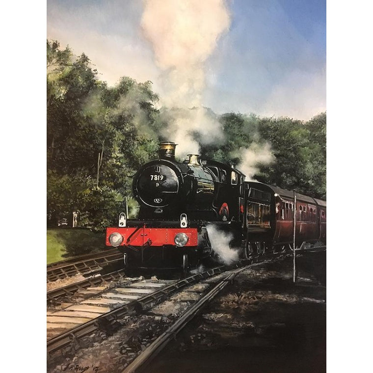 Avon Steam Train Print - Jayne Abbott
