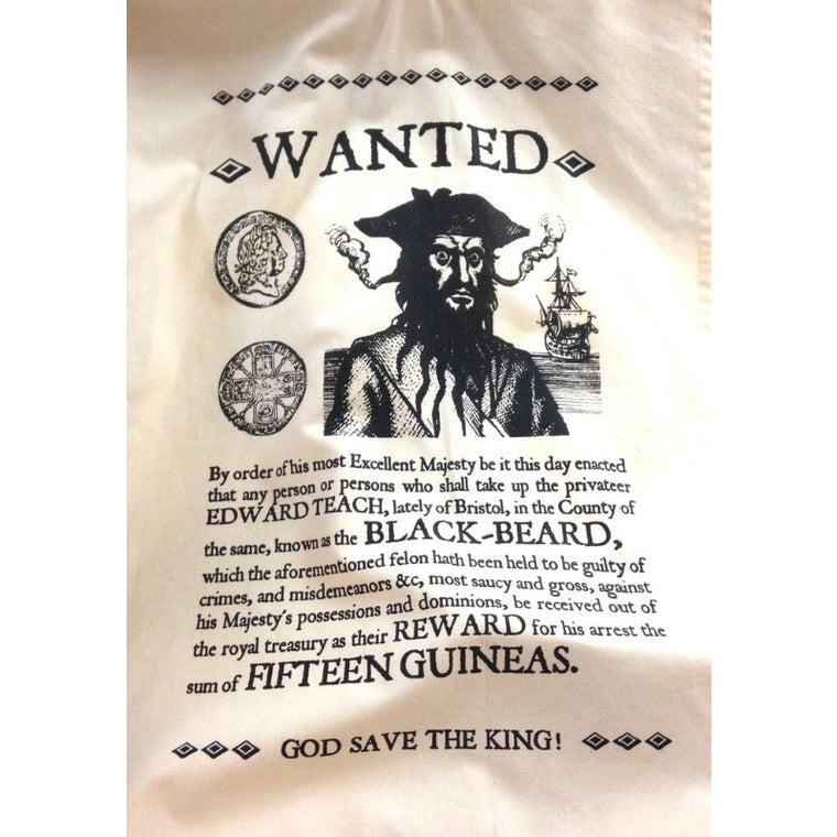 Blackbeard Beast Tea Towel