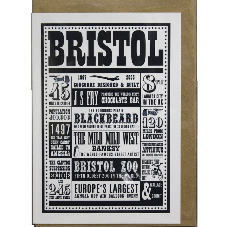 Bristol Greeting Card - Susan Taylor